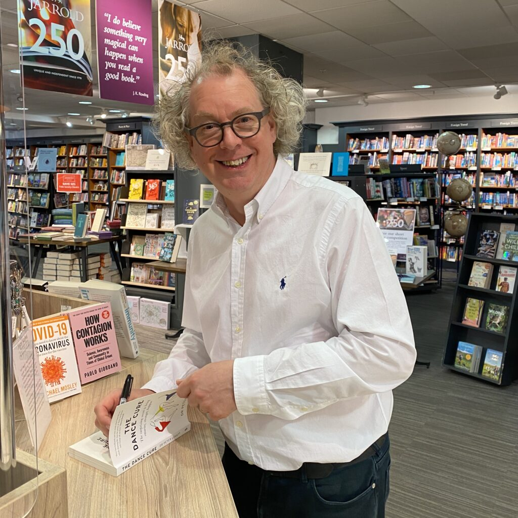 Peter Lovatt book signing The Dance Cure