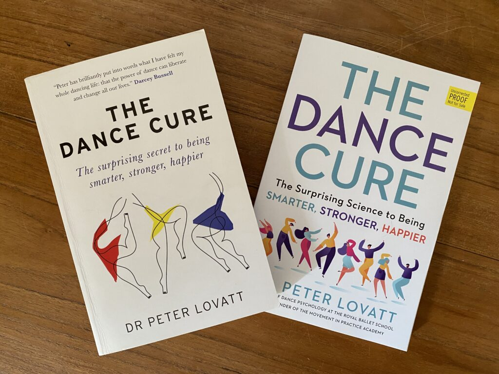 The Dance Cure UK and US covers