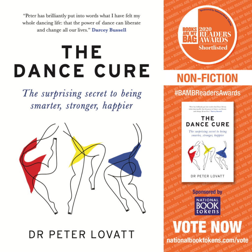 The Dance Cure Books are My Bag Shortlist
