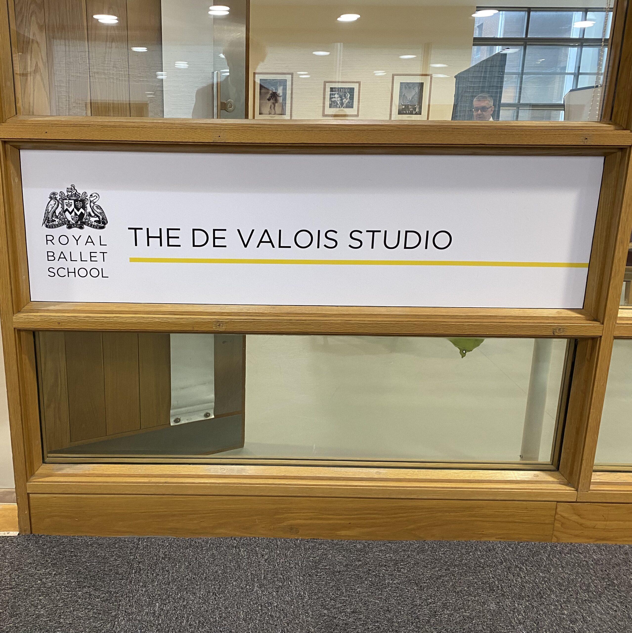 Royal Ballet School De Valois Studio