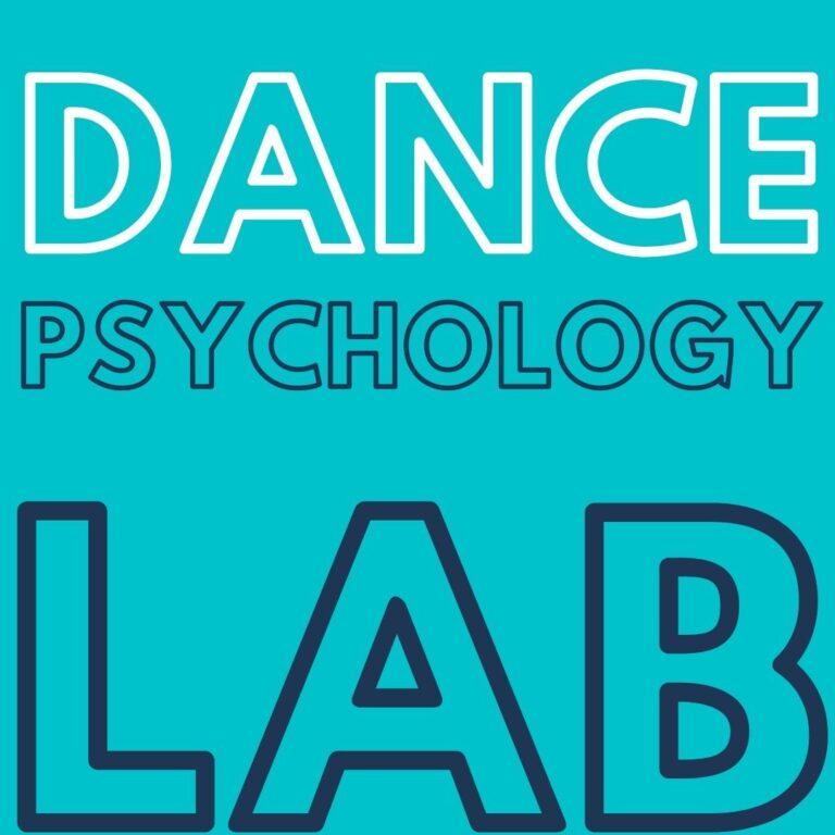 Dance Psychology Lab Peter Lovatt