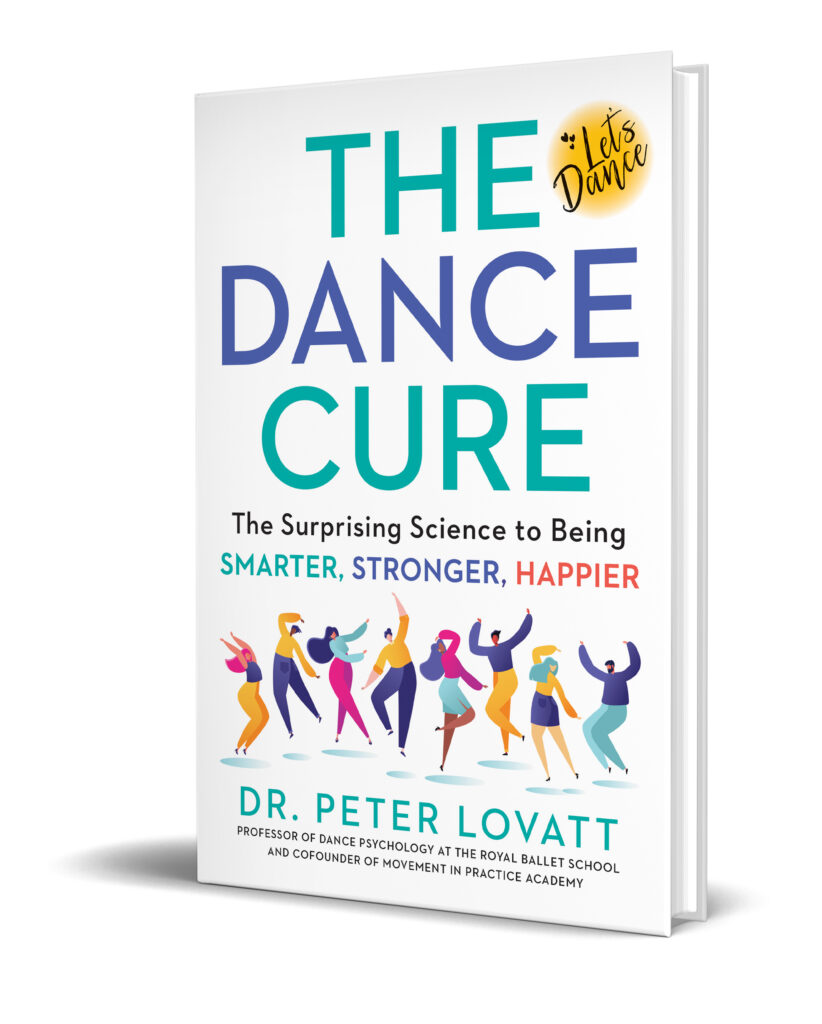 Peter Lovatt The Dance Cure US Cover