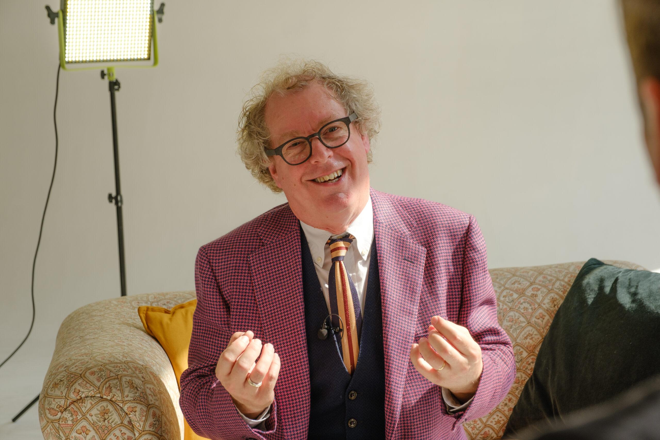 Peter Lovatt Explaining Smiling