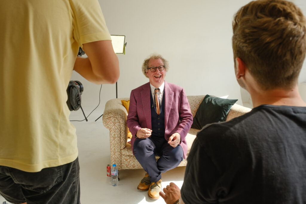 Peter Lovatt being Interviewed 01