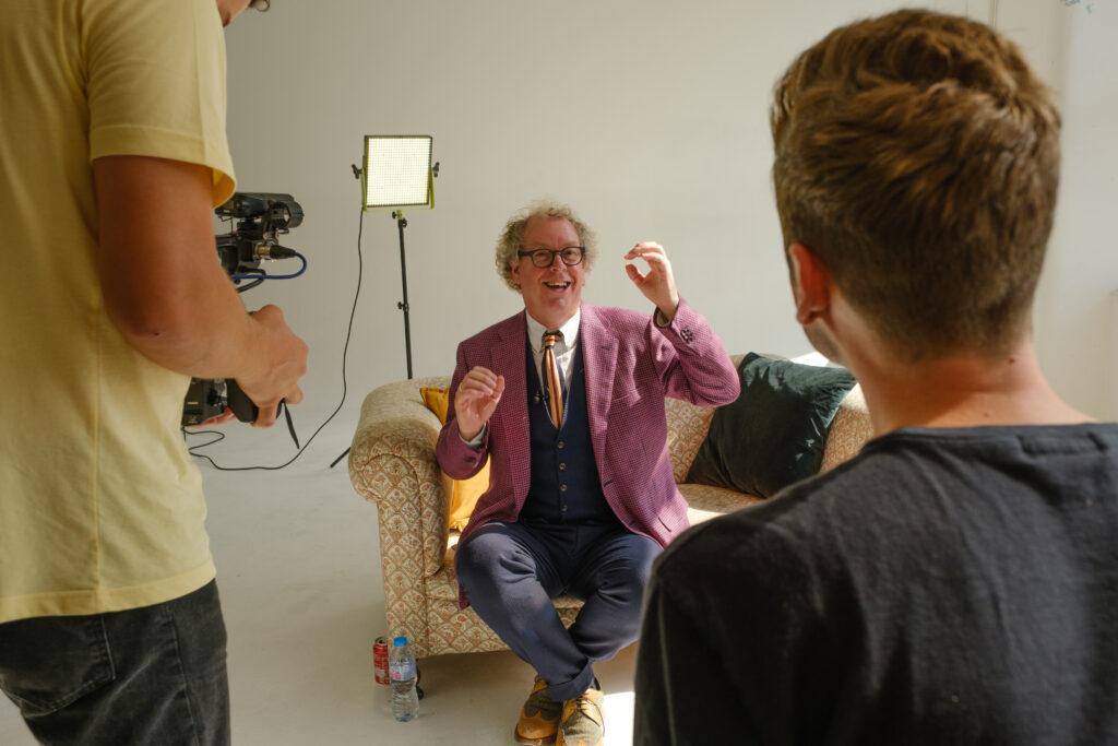 Peter Lovatt being Interviewed 02