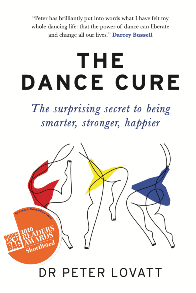 The Dance Cure by Peter Lovatt UK Cover