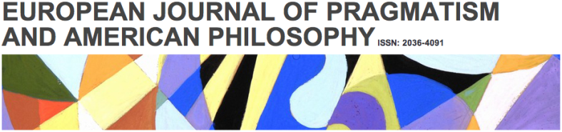 the european journal of pragmatism and american philosophy