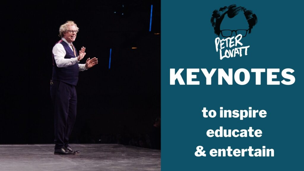 Peter Lovatt Keynotes