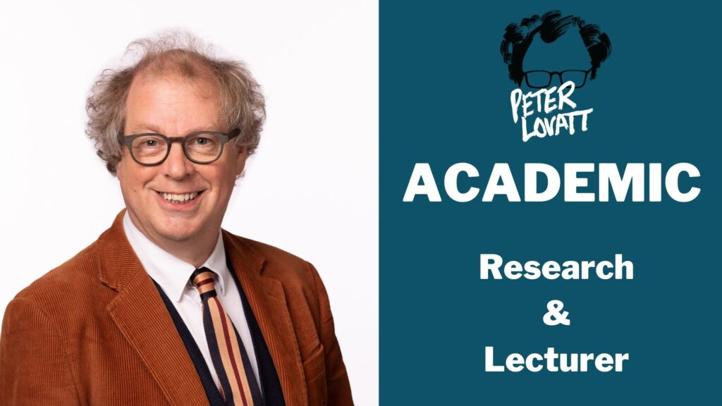 Peter Lovatt Academic
