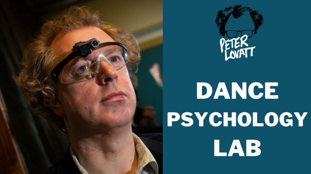 Peter Lovatt Dance Psychology Lab