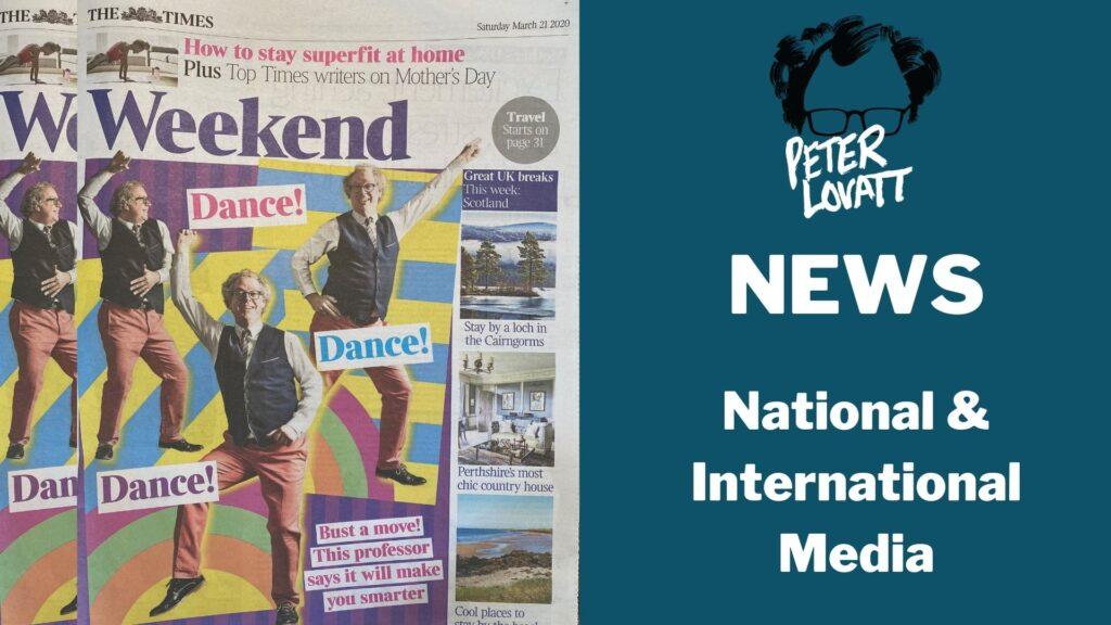 Peter Lovatt News