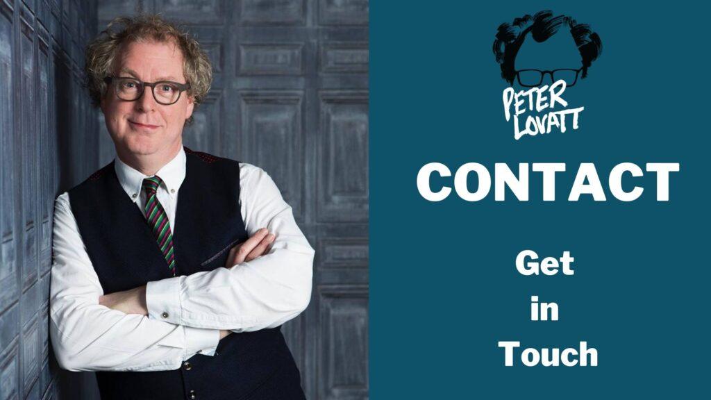 Peter Lovatt Contact