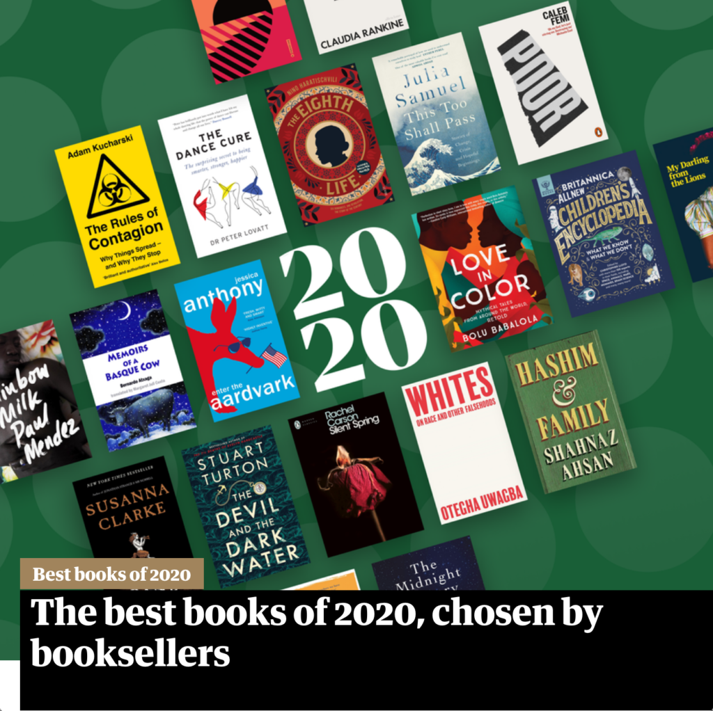 The Observer Best Books of 2020