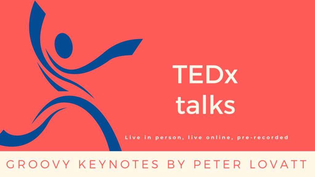 Peter Lovatt TEDx talks 1920 x 1080