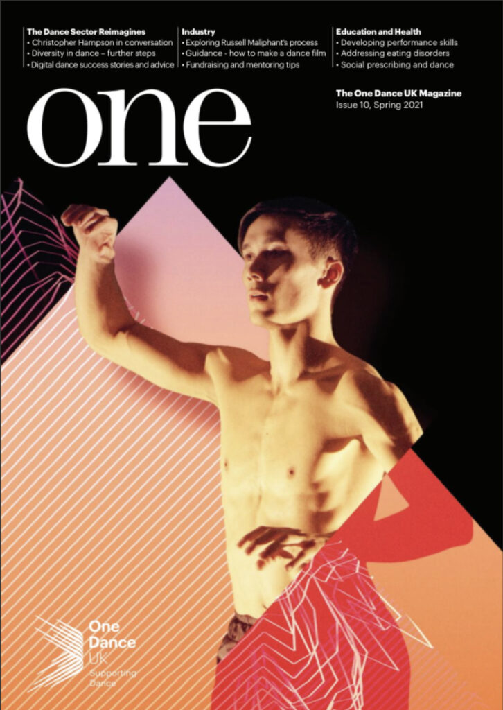 One Dance UK Magazine front cover