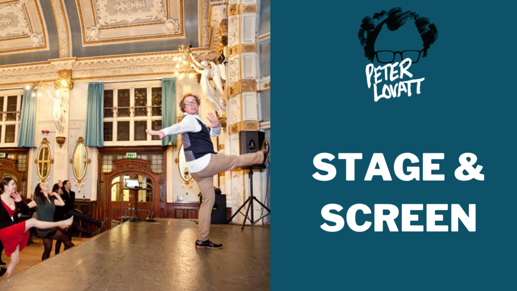 Peter Lovatt Stage and Screen