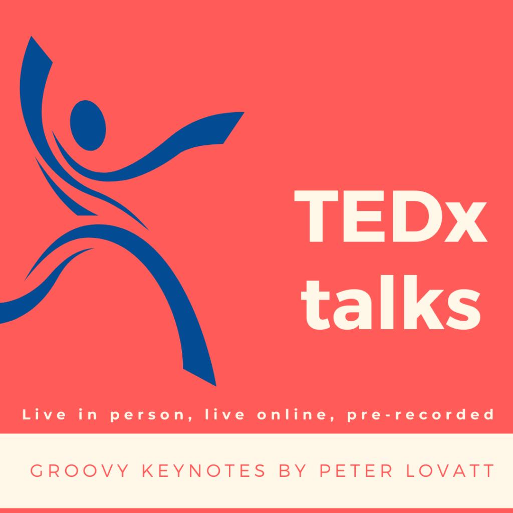 Peter Lovatt TEDx talks