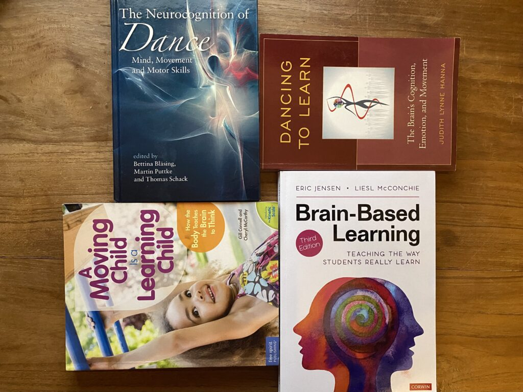 Books about movement and learning