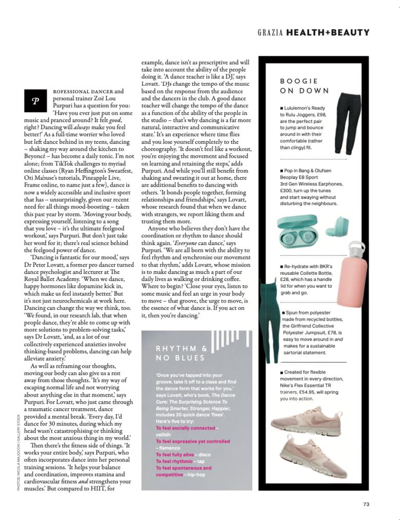 Grazia Page 2 Lovatt Article