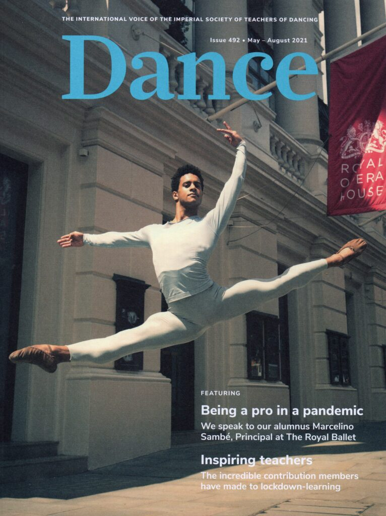 ISTD Dance Magazine Cover